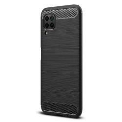 """Etui """"Carbon Case"""" za Huawei P40 Lite, črna barva"""