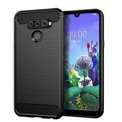 """Etui """"Carbon Case"""" za LG K50s, črna barva"""