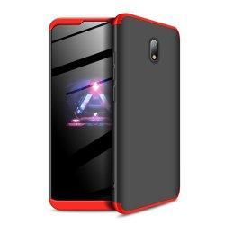 Etui Hybrid 360 za Xiaomi Redmi 8A, rdeče črna barva