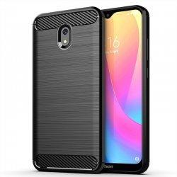 """Etui """"Carbon Case"""" za Xiaomi Redmi 8A, črna barva"""