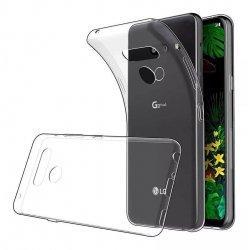Silikonski etui za LG G8S ThinQ, 0,5mm, Prozorna barva