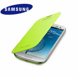 Torbica za Samsung Galaxy S3, Flip Cover Samsung EFC-1G6F, Zelena