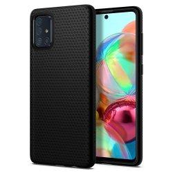 Spigen Liquid Air za Samsung Galaxy A71, črna barva
