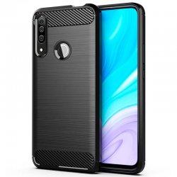 """Etui """"Carbon Case"""" za Huawei Honor 9X, črna barva"""