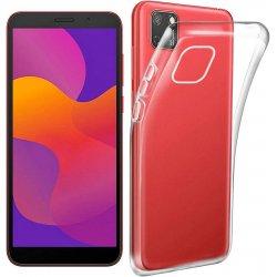Silikonski etui za Huawei Y5P, 0,5mm, Prozorna barva