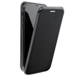 "Preklopna torbica, etui ""flexi Elegance"" za Huawei P30 Lite, črna barva"