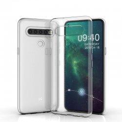 Silikonski etui za LG K61, 0,5mm, Prozorna barva