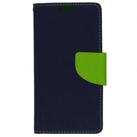 """Preklopna torbica """"Fancy"""" za Xiaomi Mi Note 10, modra barva"""