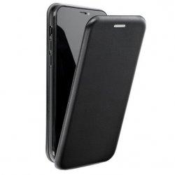 "Preklopna torbica, etui ""flexi Elegance"" za Samsung Galaxy A21, črna barva"