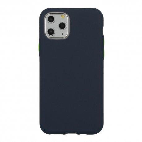 Silikonski etui za Samsung Galaxy A12,  temno modra barva