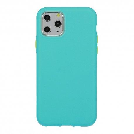 Silikonski etui za Samsung Galaxy A12,  mint barva
