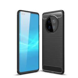 """Etui """"Carbon Case"""" za Huawei Mate 40 Pro, črna barva"""