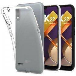 Silikonski etui za LG K22, 0,5mm, Prozorna barva