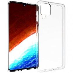 Silikonski etui za Samsung Galaxy A12, 0,5mm, Prozorna barva