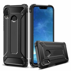 "Etui ""Armor"" za Huawei P Smart 2019, črna barva"