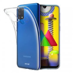 Silikonski etui za Samsung Galaxy M31, 0,5mm, Prozorna barva