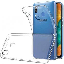 Silikonski etui za Samsung Galaxy A30, Prozorna barva