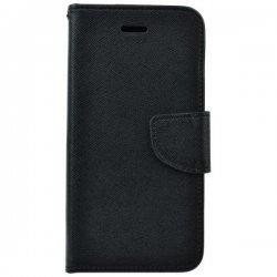 "Preklopna torbica ""Fancy"" za Huawei Y6P, črna barva"