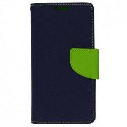 "Preklopna torbica ""Fancy"" za Huawei Y6P, modra barva"