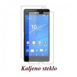 Zaščitno kaljeno steklo za Sony Xperia Z3 Trdota 9H 0,3 mm Front+Back