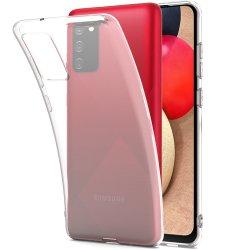 Silikonski etui za Samsung Galaxy A02s, Prozorna barva