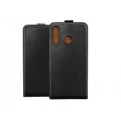 "Preklopna torbica, etui ""flexi"" za Huawei P30 Lite, črna barva"