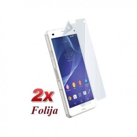 Zaščitna Folija ekrana za Sony Xperia Z3 Compact , Duo pack
