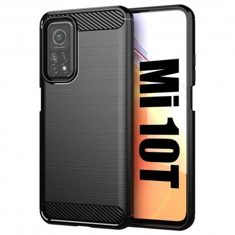 "Etui ""Carbon Case"" za Xiaomi Mi 10T, črna barva"
