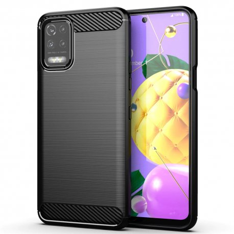"""Etui """"Carbon Case"""" za LG K52, črna barva"""