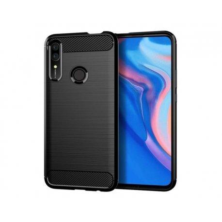 "Etui ""Carbon Case"" za Huawei P Smart Z, črna barva"