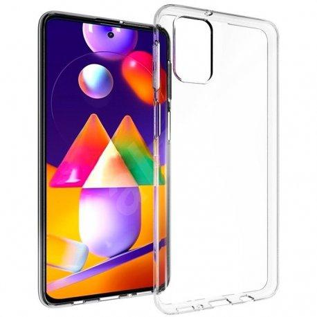 Silikonski etui za Samsung Galaxy M31s, Prozorna barva