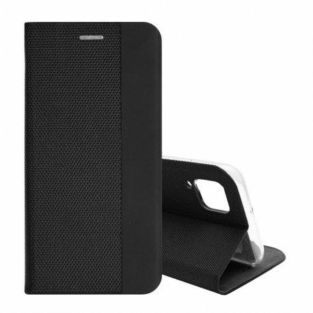 "Preklopna torbica ""Sensitive Book"" za Huawei P40 Lite, črna barva"