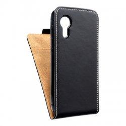 "Preklopna torbica, etui ""flexi"" za Samsung Galaxy Xcover 5, črna barva"