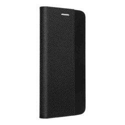 """Preklopna torbica """"Sensitive Book"""" za Huawei P Smart 2021, črna barva"""