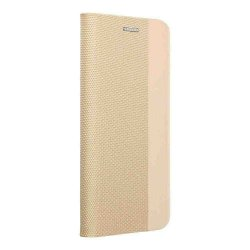 "Preklopna torbica ""Sensitive Book"" za Huawei P Smart 2021, zlata barva"
