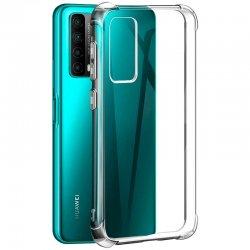 "Silikonski etui ""Shock"" za Huawei P Smart 2021, Prozorna barva"