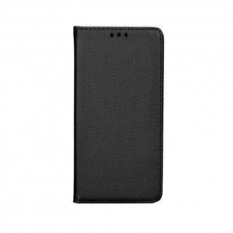 "Preklopna torbica ""Smart Book"" za LG G8S ThinQ, črna barva"