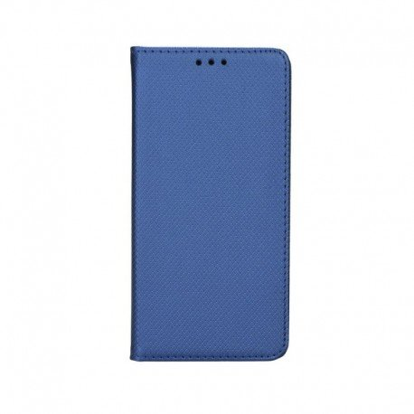 "Preklopna torbica ""Smart Book"" za LG G8S ThinQ, modra barva"
