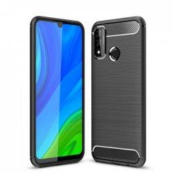 "Etui ""Carbon Case"" za Huawei P Smart 2020, črna barva"