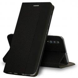"Preklopna torbica ""Sensitive Book"" za Samsung Galaxy A50, črna barva"