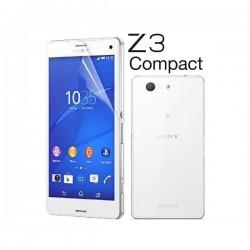 Silikon etui za Sony Xperia Z3 Compact +Folija ekrana TPU 0,3mm Transparent barva