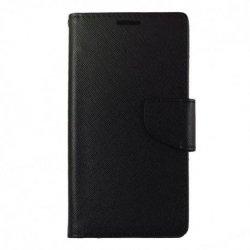 "Preklopna torbica ""Fancy"" za Xiaomi Redmi Note 9 5g, črna barva"