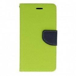 "Preklopna torbica ""Fancy"" za Xiaomi Redmi Note 9 5g, zelena barva"