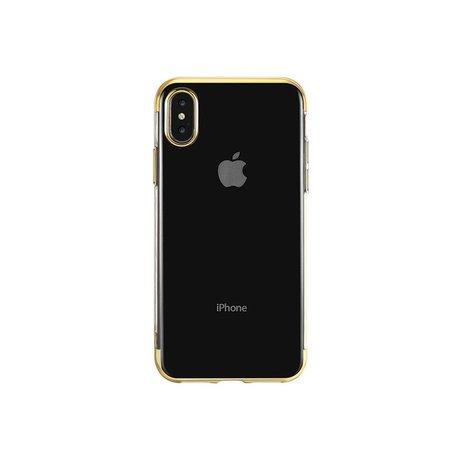 """Etui """"New Electro"""" za Xiaomi Redmi Note 9S / 9 Pro, zlata barva"""
