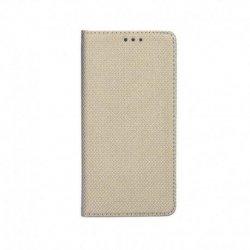 """Preklopna torbica """"Smart Book"""" za Xiaomi Redmi Note 10 / 10S, zlata barva"""
