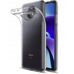 Silikonski etui za Xiaomi Redmi Note 9 5G, Prozorna barva