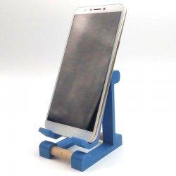 Univerzalni namizni podstavek za telefon, modra barva