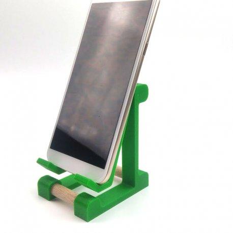 Univerzalni namizni podstavek za telefon, zelena barva