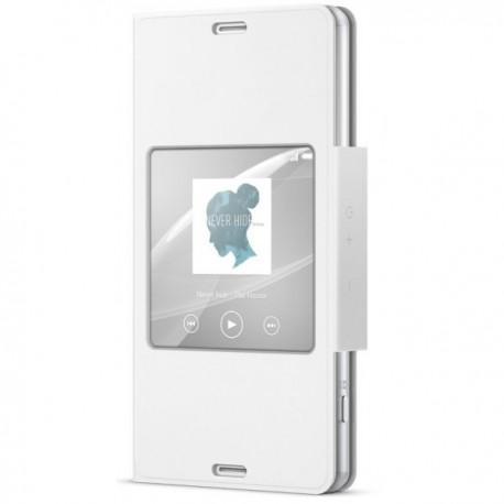 Preklopna Torbica Original za Sony Xperia Z3 Compact Smart Cover - Bela Barva SCR26 Sony
