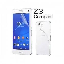 Zaščitna Folija ekrana za Sony Xperia Z3 Compact Sprednja+Zadnja folija